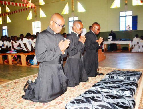 Burundi: perpetual professions and priestly ordinations.