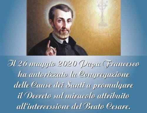 Cesare De Bus sarà Santo,il voto dei cardinali per la canonizzazione